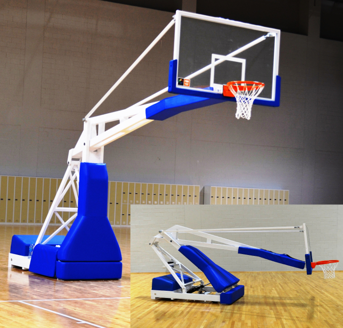 Basketball Backstop Fiba Approved Electric Movement